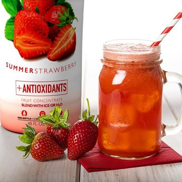 Strawberry Ginger Cooler