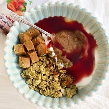 Strawberry Protein Power Bowl