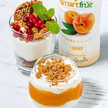 Perfect Peach Parfait
