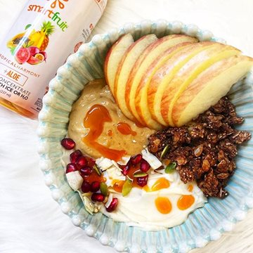 Apple Yogurt Bowl