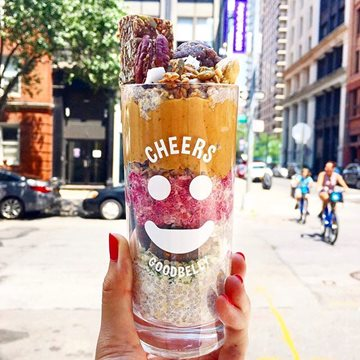 Goodbelly andamp Cheers Parfait