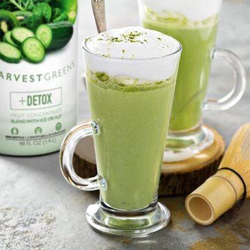 Harvest Greens Matcha Latte
