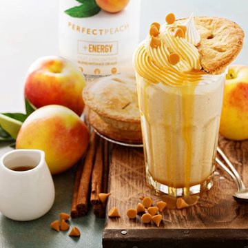 Apple-Peach Pie Smoothie
