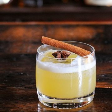 Spice Spiked Gin Punch