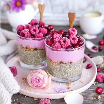Pitaya Power Breakfast Jar