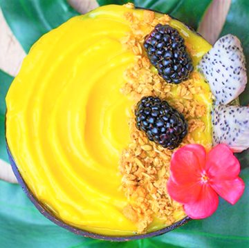 Tropical Protein Nice Cream Bowl