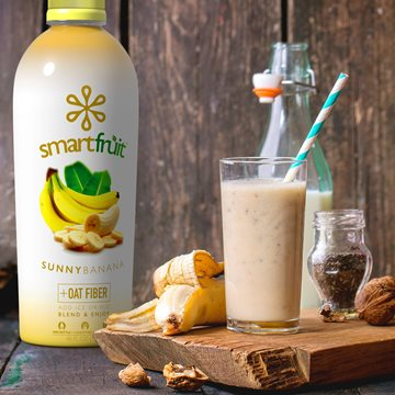 Banana Walnut Power Smoothie Made with Smartfruit