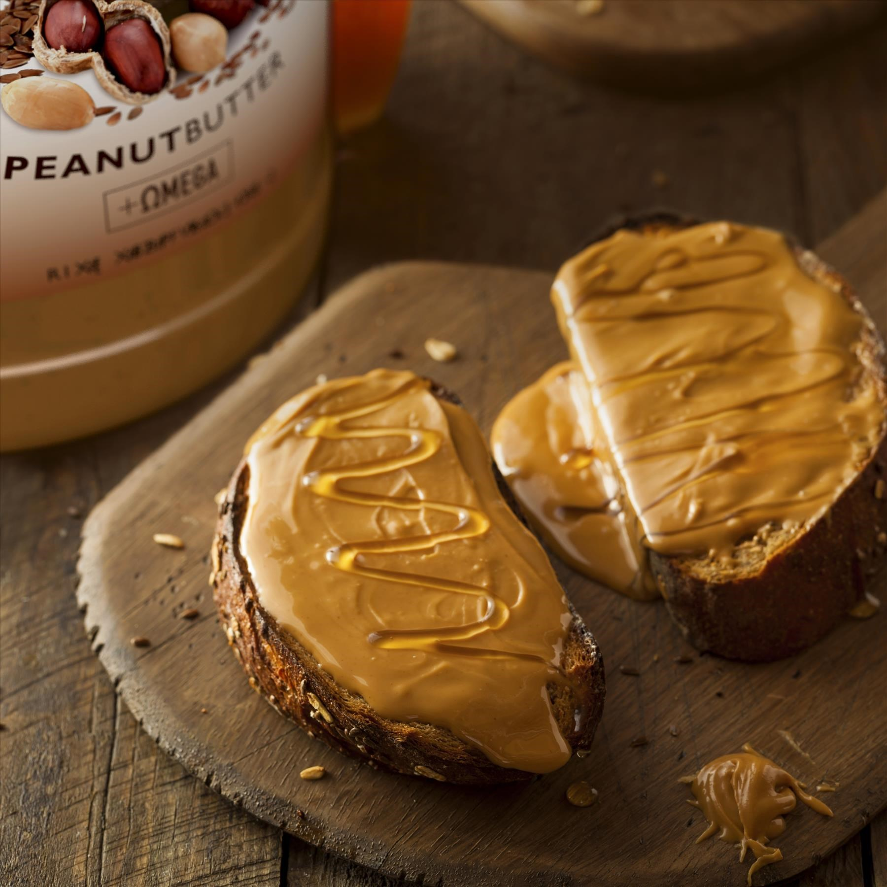 Simply Delicious Peanut Butter Toast Made with Smartfruit