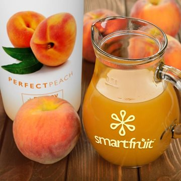 Perfect Peach Tea Made with Smoothie Mix