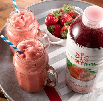 Summer Strawberry Smoothie Made with Smartfruit