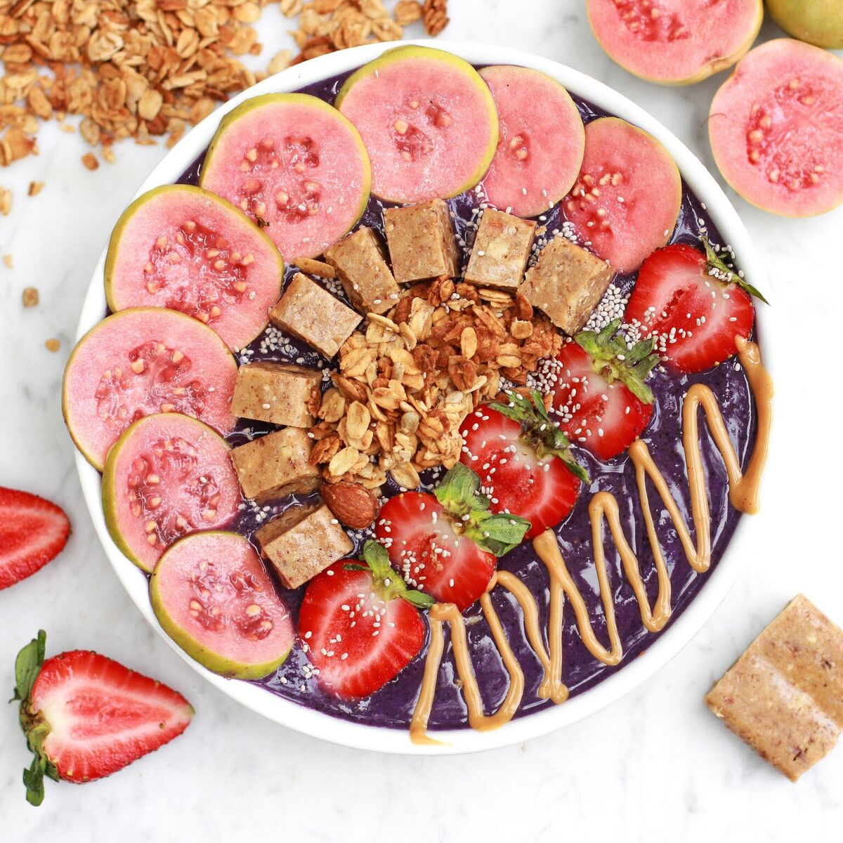Tropical Infused Smoothie Bowl