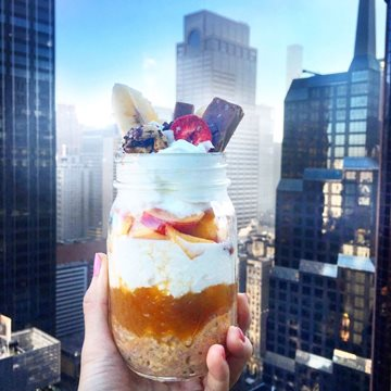 Feel Peachy with this Parfait