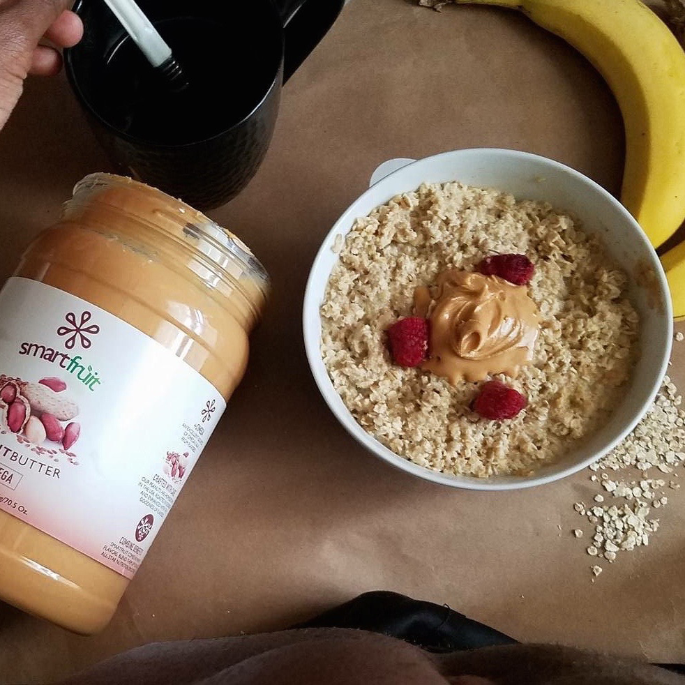 Peanut Butter Morning Oats