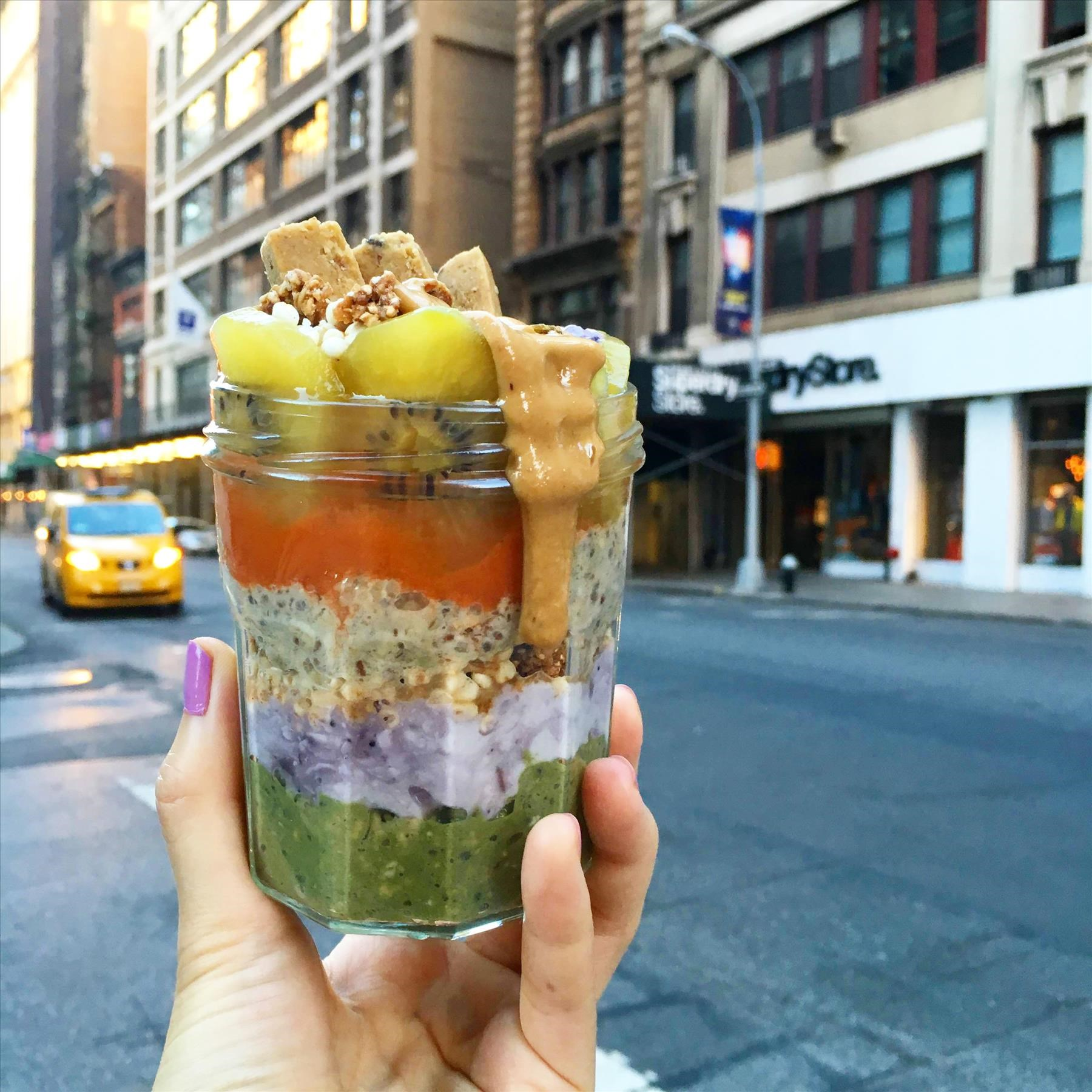 Matcha Infused All-Star Parfait