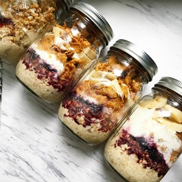 It's Friyay Parfait blissful jars Time