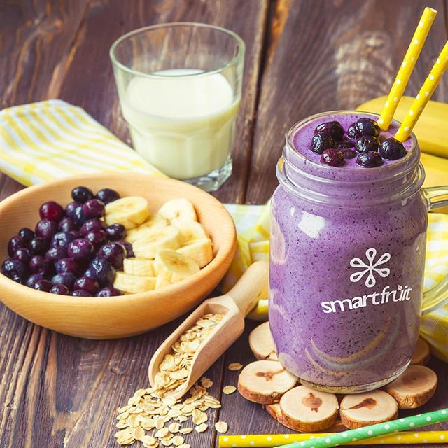 Black Cherry & Oats Smoothie