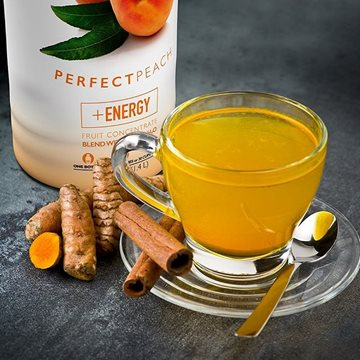 Turmeric Peach Cinnamon Tea