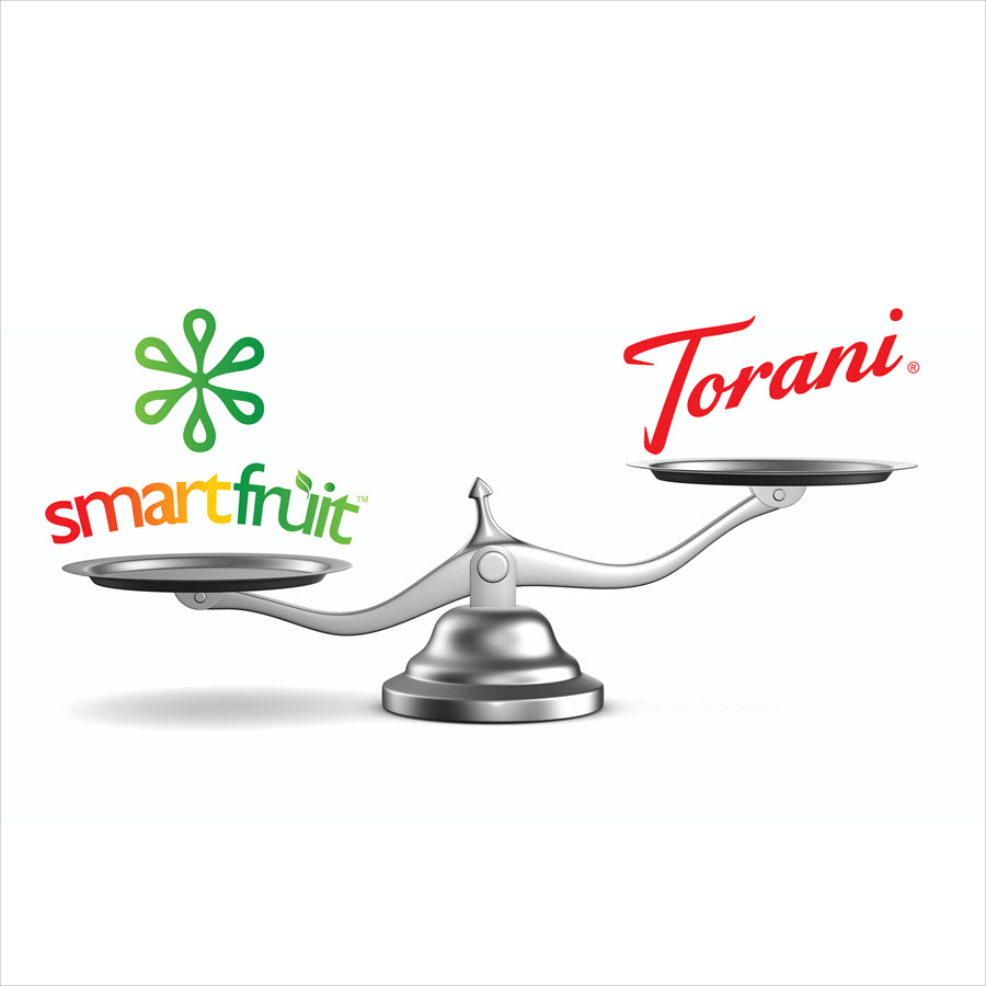 Does Torani Smoothie Mix Deliver the Nutritional Value or Fruit Content of Smartfruit?